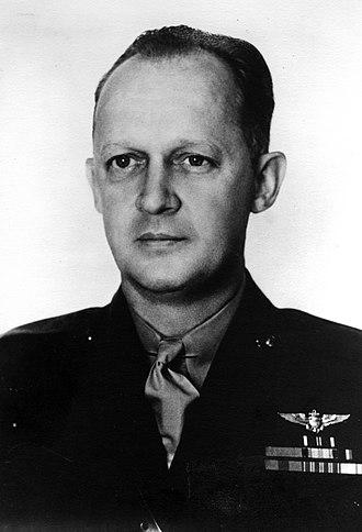 Byron F. Johnson - Johnson as Major in late 1930s.