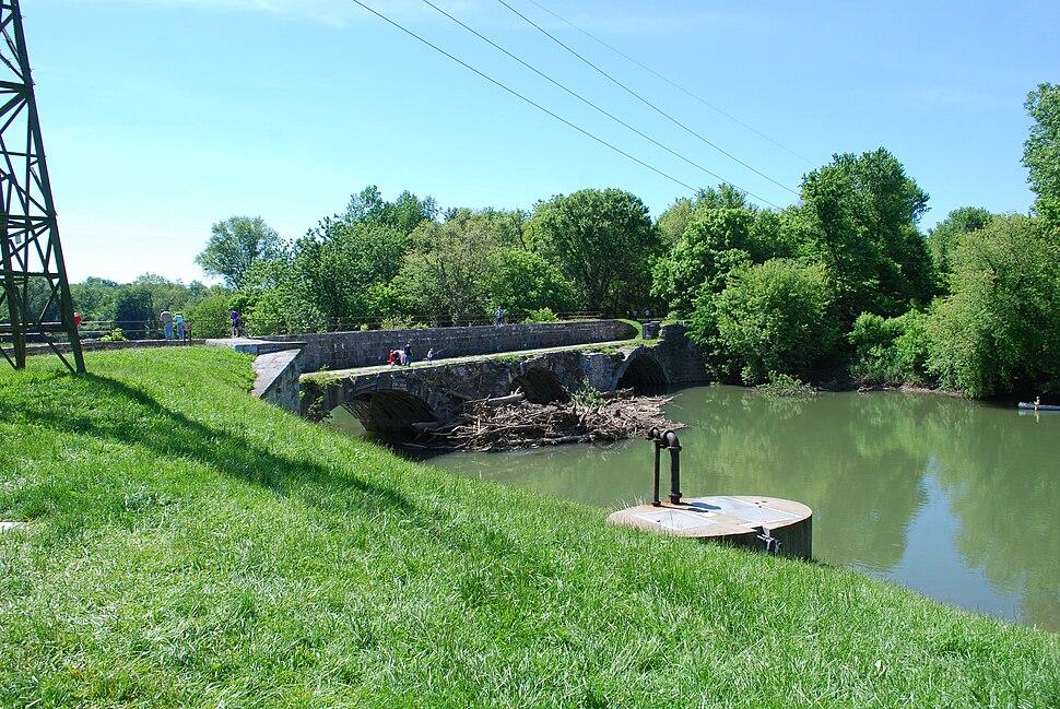 C%26O Canal - Conococheague Creek Aqueduct