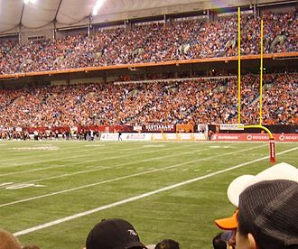 BC Lions - The 2006 West Division Final at BC Place