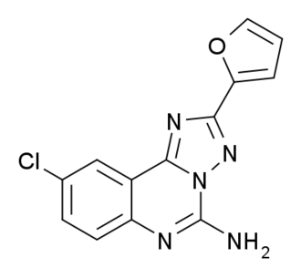 CGS-15943 - Image: CGS 15943 structure
