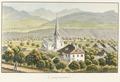 CH-NB - Lauperswil, Evangelisch-Reformierte Kirche, Gesamtaussenansicht - Collection Gugelmann - GS-GUGE-WEIBEL-D-74b.tif