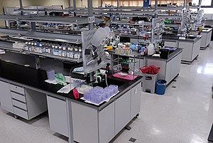 Laboratory - A medical laboratory run by the Graduate Institute of Cancer Biology of China Medical University (Taiwan)