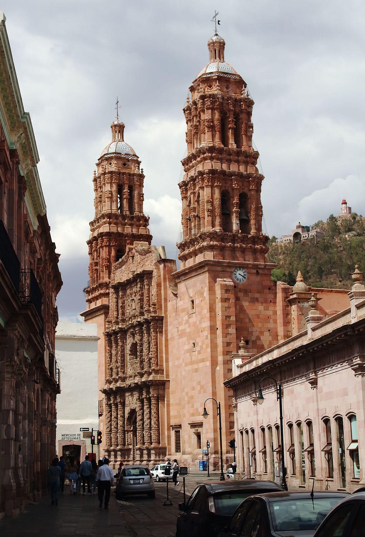 Catedral basílica de Zacatecas - Wikipedia, la enciclopedia libre