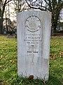 CWGC graves at Cathays Cemetery, December 2020 09.jpg