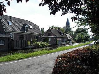Cabauw Village in Utrecht, Netherlands