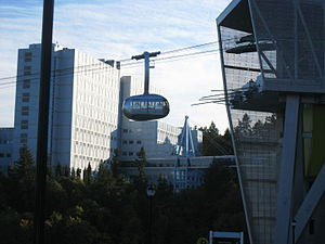 Cable transport - The Portland Aerial Tram