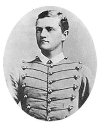 John J. Pershing - Pershing as a cadet in 1886