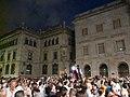 Caixa de Barcelona - Arribada de la xambanga de gegants P1160593.JPG