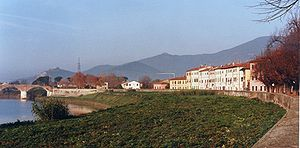 Panorama di Calcinaia