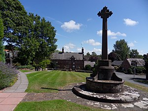 Caldy - Image: Caldy Village Green (geograph 2541489)
