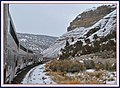 California Zephyr traveling through Glenwood Canyon Colorado - panoramio.jpg
