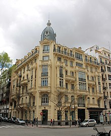 Calle de goya wikipedia la enciclopedia libre - Calle castello madrid ...