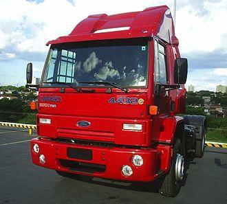Ford Cargo - Image: Caminhao