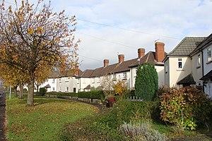 """Bulwark, Chepstow - """"Garden Suburb"""" housing in Bulwark"""