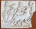 Camposanto, rilievo lato sud, 02 scena mitraica.JPG