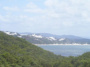 Cape York Peninsula - Sand dunes around Cape Flattery.