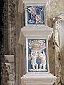 Cappella degli angeli o di isotta, putti festanti di agostino di duccio 06,2.JPG