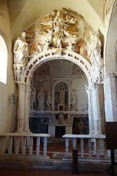 Cappella della Madonna della Catena, basilica cattedrale di Maria Santissima Assunta di Caltabellotta.
