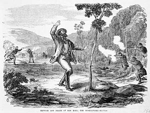 Ben Hall (bushranger) - Death of Hall