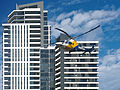 CareFlight 4 (VH-ZCF) taking off from Sydney Olympic Park.jpg