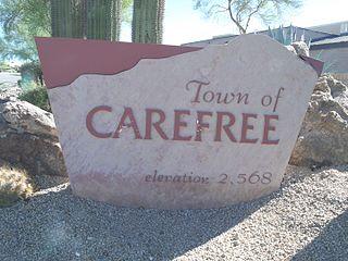 Carefree, Arizona Town in Arizona, United States