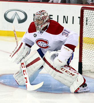 Carey Price - Price in January 2015.