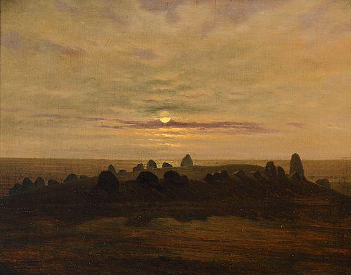 Carl Gustav Carus Stone Age Mound