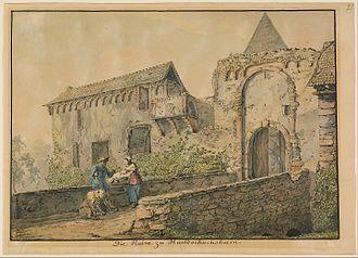 Karl Philipp Fohr - Image: Carl Philipp Fohr (German Ruin of the Tiefburg at Handschuhsheim Google Art Project