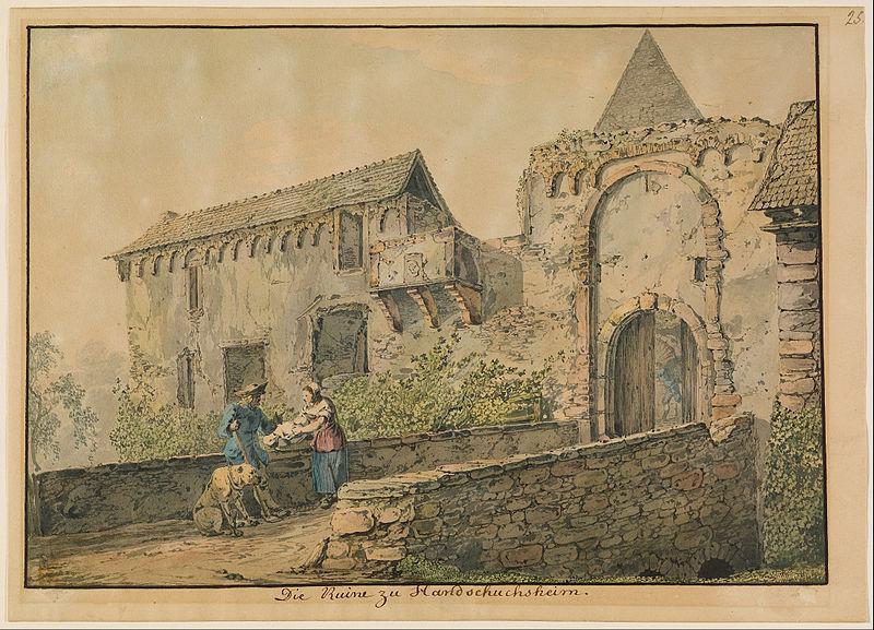 File:Carl Philipp Fohr (German - Ruin of the Tiefburg at Handschuhsheim - Google Art Project.jpg