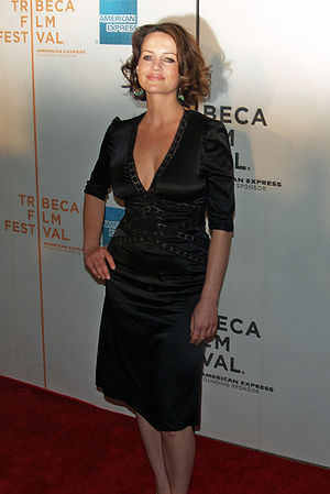 Carla Gugino - Gugino at the 2007 Tribeca Film Festival