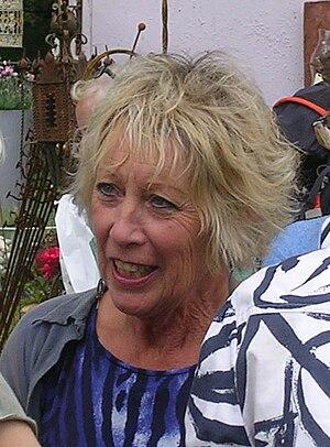 Carol Klein - Klein at the 2010 RHS Tatton Park show