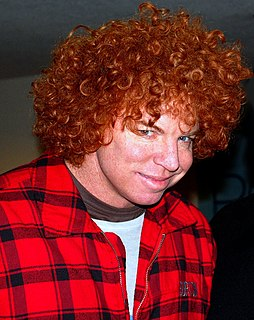 Carrot Top American stand-up comedian