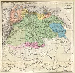 Carta hidrográfica de Venezuela 1840.jpg