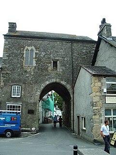 Cartmel Priory Gatehouse