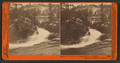 Cascade between the Vernal and Nevada Falls, Yosemite Valley, Mariposa County, Cal, by Watkins, Carleton E., 1829-1916.png