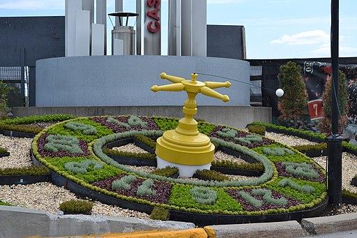 Casino de Montréal (horloge fleurie)