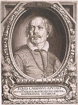 Cassiano dal Pozzo - Image: Cassianus Aputeoengraving