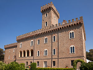 Castiglioncello - Image: Castello Pasquini
