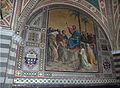 Castello di brolio, san jacopo, int., mosaici di augusto castellani, 1878, 02.JPG