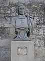 Castelnau-le-Lez, buste de Joan Batista Favre par H.Varenne.JPG