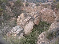 Castillejo de Restábal (Granada). Aljibe..JPG