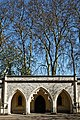 Catacomb Columbarium City of London Cemetery central entrance 1.jpg
