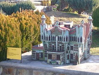 """Casa Vicens - """"Catalunya en Miniatura"""" model of Casa Vicens"""