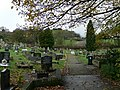 Cemetery at St Mary's Church, Brymbo - geograph.org.uk - 623438.jpg