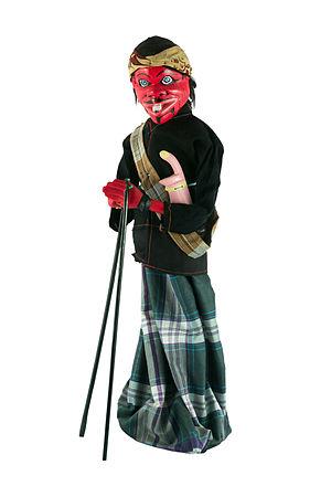 Cepot - Cepot, as a wayang golek puppet