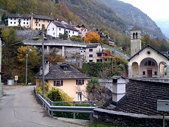 Cevio - Cevio village