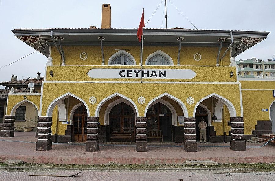 Ceyhan railway station