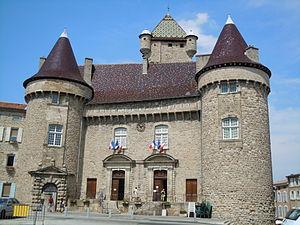 Ardèche - Image: Château d'Aubenas