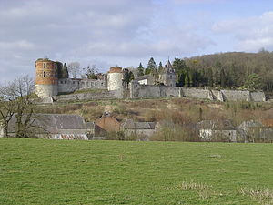 Hierges - Image: Château hierges 003