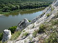 Chalky mountains at Don close to Pavlovsk, Voronezh region.jpg